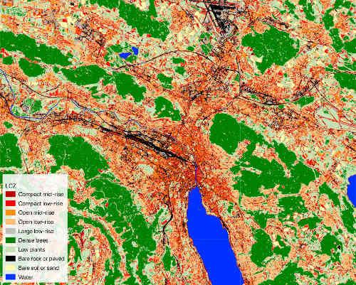 Lokalna strefa klimatyczna Zurych