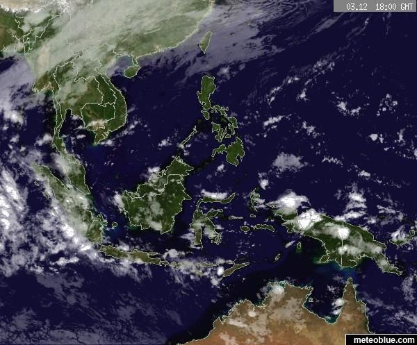 Weather Maps Southeast Asia Meteoblue - Asia satellite map