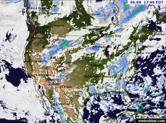 Weather Maps United States Meteoblue - Saturday us weather map