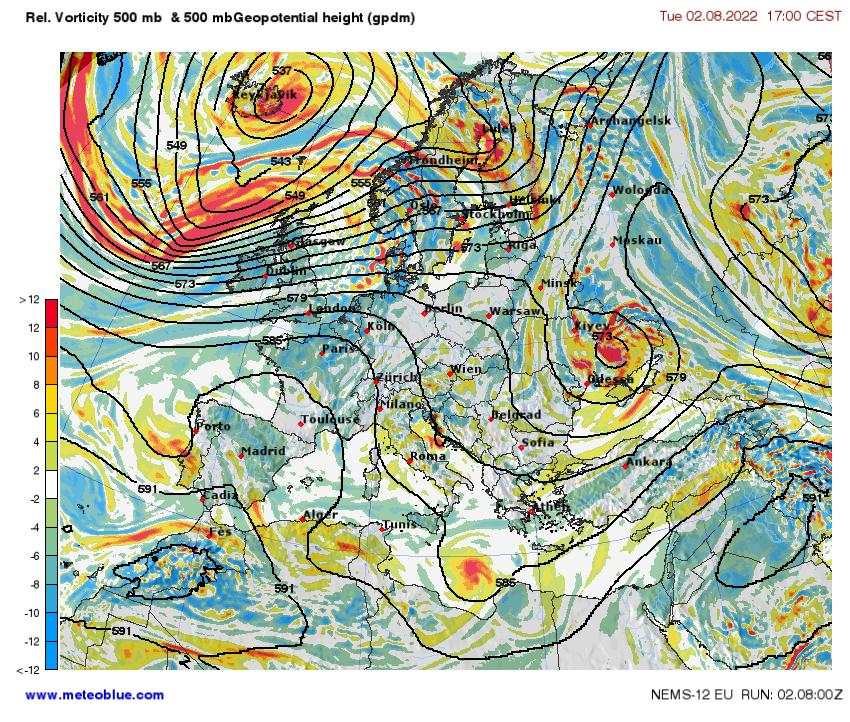 Weather Maps Europe Meteoblue