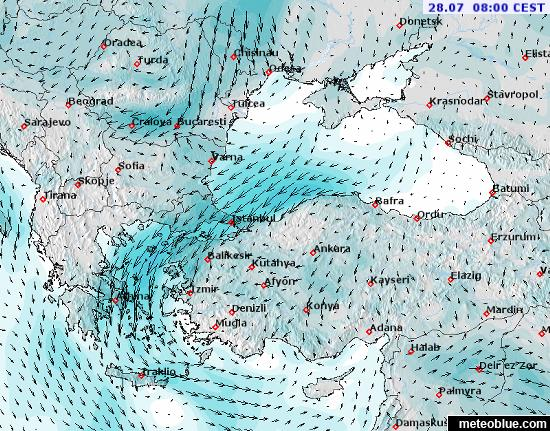 Weather maps black sea meteoblue map map map map map map sciox Gallery