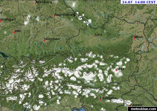 Weather Maps Austria Meteoblue