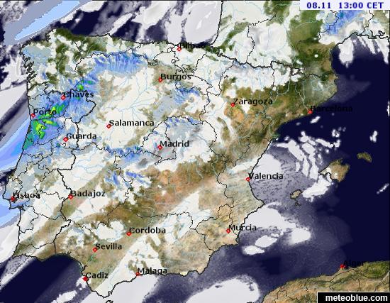 Mapas Meteorologicos Espana Y Portugal Meteoblue