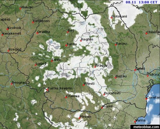Hărţi Meteo Romania Meteoblue