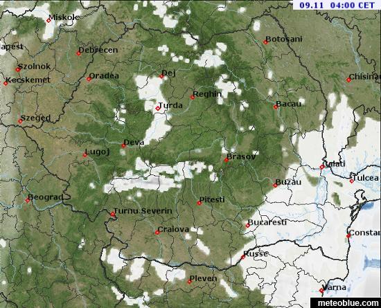Weather Maps Romania Meteoblue