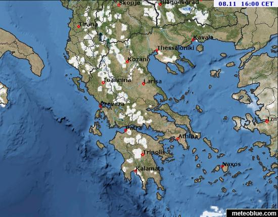 Weather Maps Greece Meteoblue