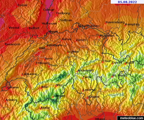 Meteoblue besancon interesting animations visites for Meteoblue grenoble
