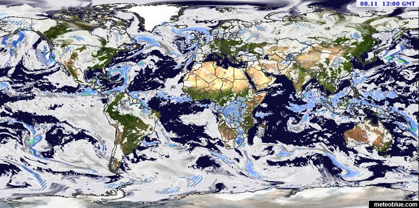 Znalezione obrazy dla zapytania mapa pogody świat