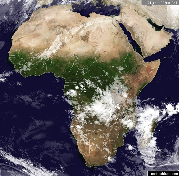 Weather Maps Africa Meteoblue