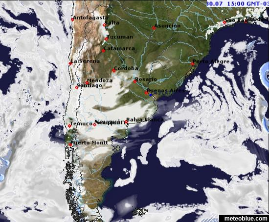 Weather maps - Argentina - meteoblue